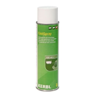 Kerbl CoolSpray klipperinhoitoaine, 500ml